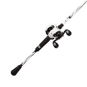 Abu Garcia Revo S LTD Baitcast Low Profile Reel and Fishing Rod Combo