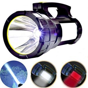 Odear Double side lights Spotlight High-power Super Bright Rechargeable LED Searchlight Lantern Flashlight